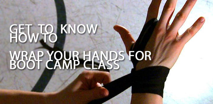 Burke's Ottawa Kickboxing Classes – Kickboxing Hand Wrapping