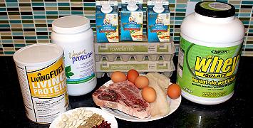 Nutrition - Lean Protein - Burke Cleland - Ottawa Personal Trainer
