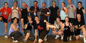 Burke's Ottawa Kickboxing Class Spring 2012