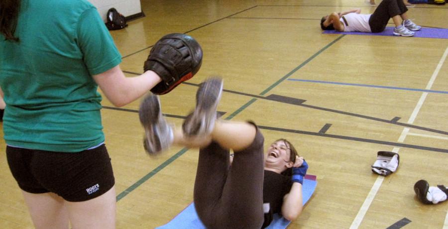 Ottawa Core Kickboxing Class, July 2012
