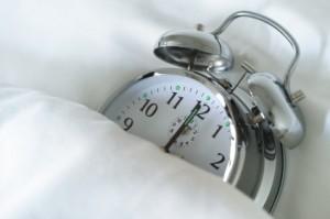 Alarm Clock sleeping