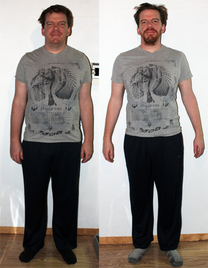 Shawn Before & After 2013 Personal Training for Couples Testimonial