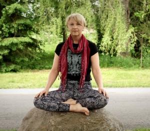 Mom Yoga Sitting