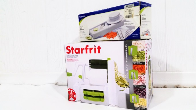 Star Fit Spiral Slicer & Multi Slicer